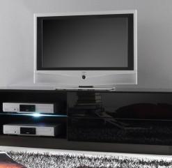 Luxusní televizní stolek Astor 1 – černý lesk