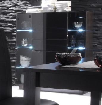 Luxusní prosklená komoda Astor 3