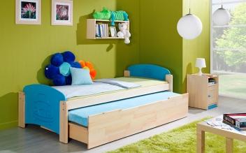 Jednolůžková postel s přistýlkou Bing2