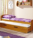 Dětská jednolůžková postel s přistýlkou Ismael