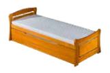 Dřevěná postel s přistýlkou a úložným prostorem Clementina 2