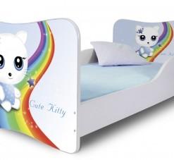 Dětská postel Cute Kitty