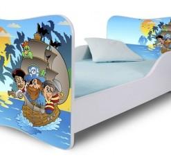 Dětská postel s motivem Pirátů
