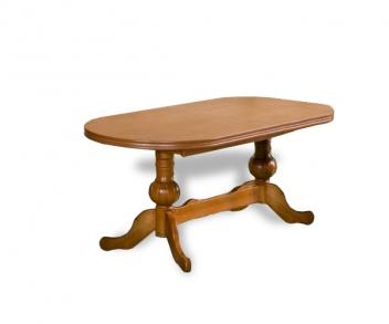 Oválný jídelní stůl z masivu Venus