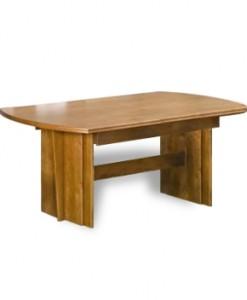 Rozkládací jídelní stoly z masivu - varianta Rafal