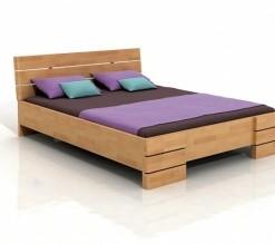 Dřevěná manželská postel Freja