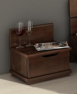 Noční stolek Greger z bukového masivu