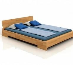 Dřevěná postel Rolf s volitelnými rozměry