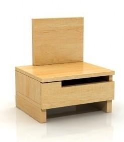 Noční stolek Daga z masivu borovice