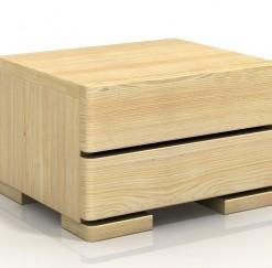Noční stolek Yrsa z masivu borovice