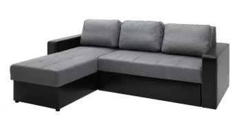 Rohová rozkládací sedací souprava s úložným prostorem Dangelo