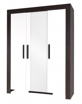 3-dveřová šatní skříň do ložnice Wiga