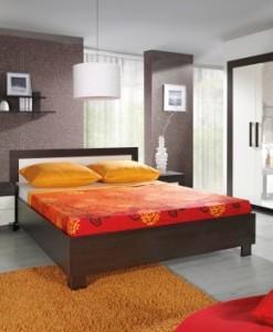 Manželská postel 140 x 200 cm / 160 x 200 cm Wiga