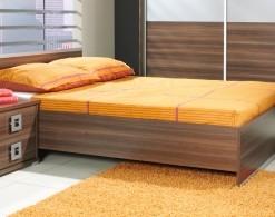 Manželská postel s vysokým čelem Freda