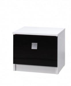 Moderní noční stolek do ložnice Darvin s šuplíkem