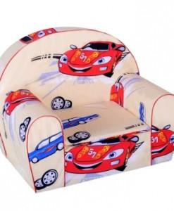 Křesílko pro děti s motivem auta