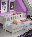 Dětská postel s výsuvnou přistýlkou Ricaro