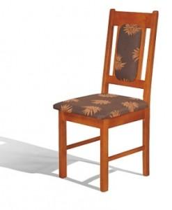 Čalouněná jídelní židle Rona