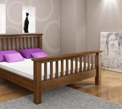 Dřevěná postel Lone