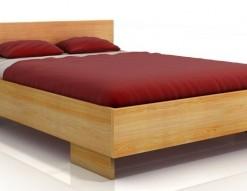 Dřevěná postel Edel s úložným prostorem