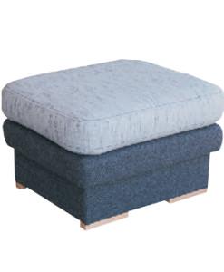Čalouněný taburet Bert 2 malý - provedení ekokůže / látka