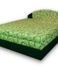 Čalouněná postel s úložným prostorem Justina – polohovací