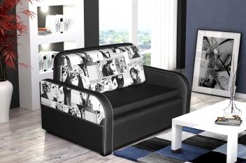 2-místný rozkládací gauč s úložným prostorem City Life