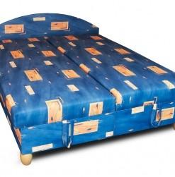 Čalouněná postel s úložným prostorem Belina – dvojlůžko