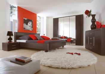 Moderní ložnice Volinois em – provedení wenge