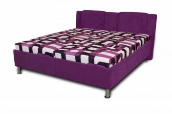 Čalouněná postel Sophia - lila