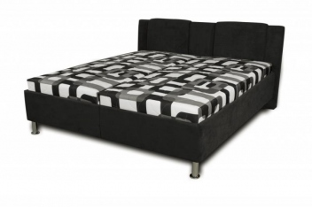 Čalouněná postel Sophia - černá