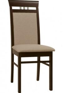 Elegantní čalouněná jídelní židle Manuela