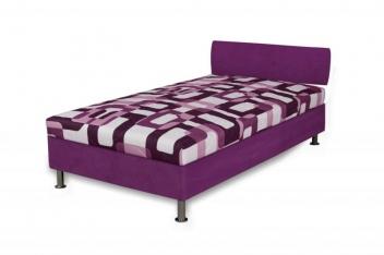 Čalouněná postel s úložným prostorem Tina