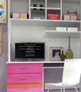Studentský psací stůl s policovou stěnou Adele 2