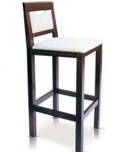 Dřevěná barová židle Kurtis