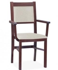 Jídelní židle s područkami Mahana