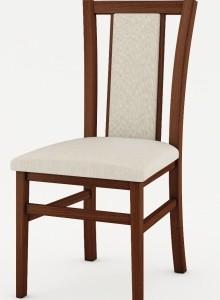 Čalouněná jídelní židle Aleta z masivu buku