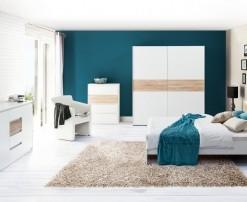 Bílá ložnice Harald