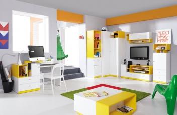Studentský nábytek - sestava Poly 4