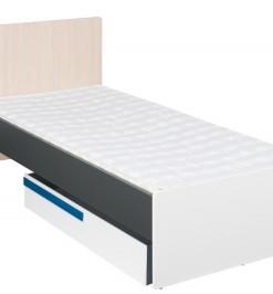 Dětská / studentská postel s úložným prostorem Julien