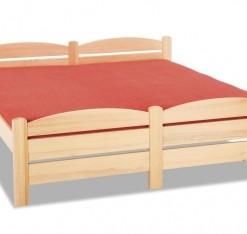 Devěná postel z masivu Mateo