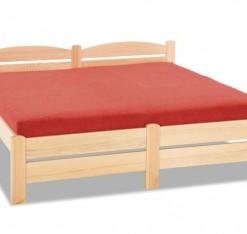 Dřevěná postel s čelem Irena