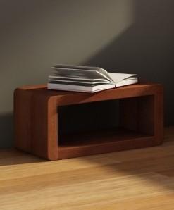 Noční stolek Bent 2 z masivu borovice
