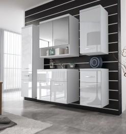 Koupelnový nábytek Horace - bílá / bílý lesk