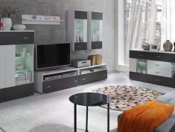 Dvoubarevná obývací stěna Demetria 1