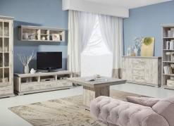 Obývací sestava Modesto v rustikálním stylu