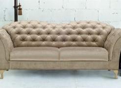 Prošívané sofa Chantal