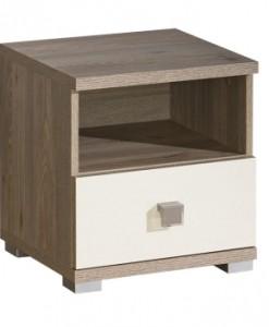 Moderní noční stolek Diandra se šuplíkem