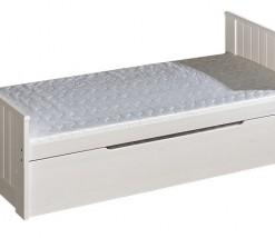 Komfortní jednolůžková postel Leola s přistýlkou