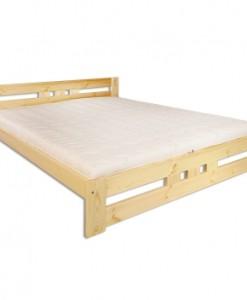 Manželská postel Alegra z masivu borovice